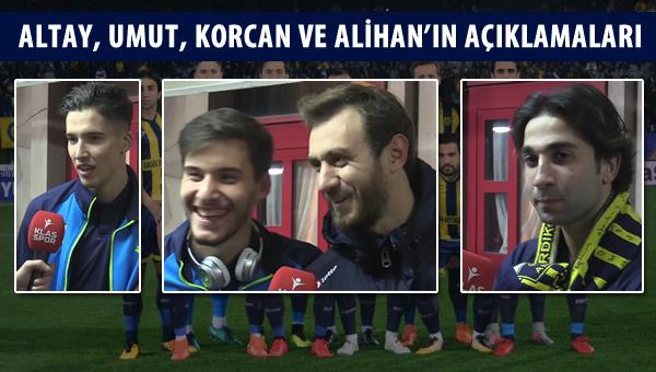 Denizlispor galibiyetin ardından Ankaragücü'nde oyuncular neler dedi?