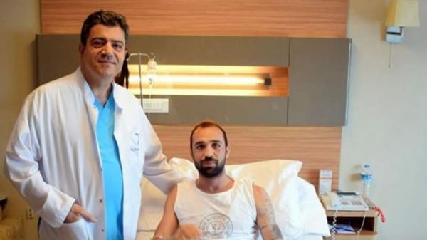 Çaykur Rizesporlu Ümit Kurt, ameliyat oldu