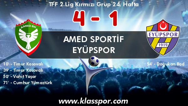 Amed Sportif 4 - Eyüpspor 1