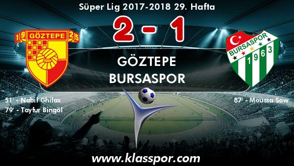 Göztepe 2 - Bursaspor 1