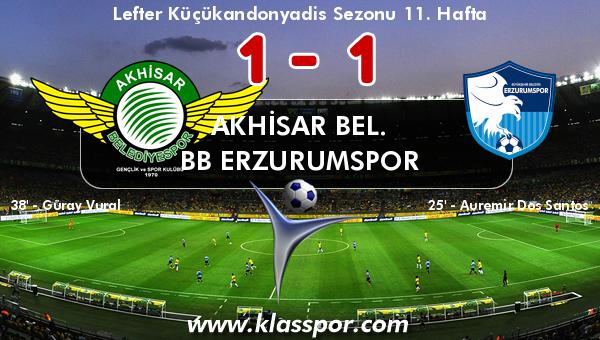 Akhisar Bel. 1 - BB Erzurumspor 1