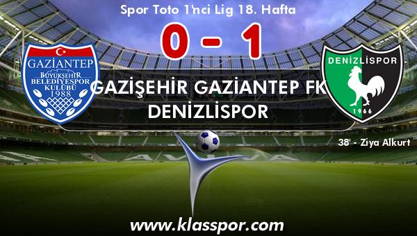 Gazişehir Gaziantep FK 0 - Denizlispor 1