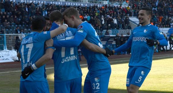 Erzurumspor'un galibiyet hasreti bitti