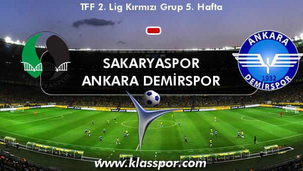 Sakaryaspor  - Ankara Demirspor