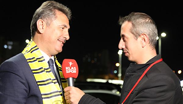 Mamak Belediye Başkanı Murat Köse Klasspor Tv'ye konuştu