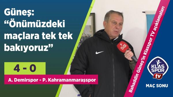 Ankarademirspor şampiyonluğa koşuyor