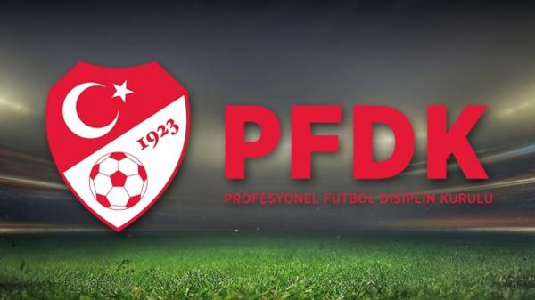 4 Süper Lig takımı PFDK'ya sevk edildi