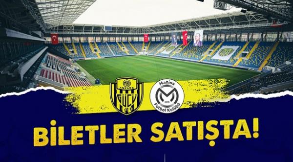Ankaragücü - Manisa FK biletleri satışa çıktı!
