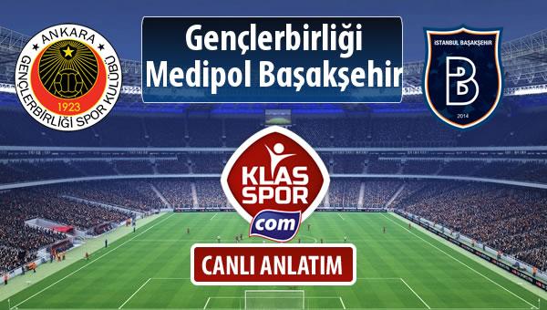 Gençlerbirliği - M.Başakşehir maç kadroları belli oldu...