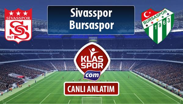 Demir Grup Sivasspor - Bursaspor sahaya hangi kadro ile çıkıyor?