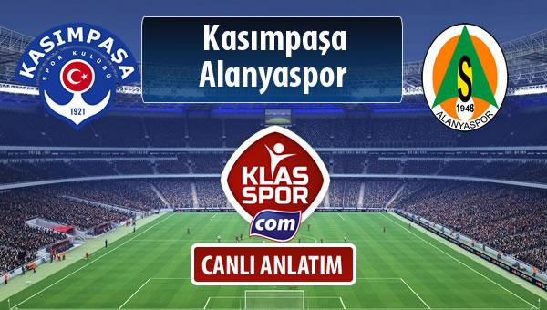 Kasımpaşa - Alanyaspor maç kadroları belli oldu...
