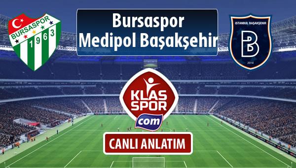 İşte Bursaspor - M.Başakşehir maçında ilk 11'ler