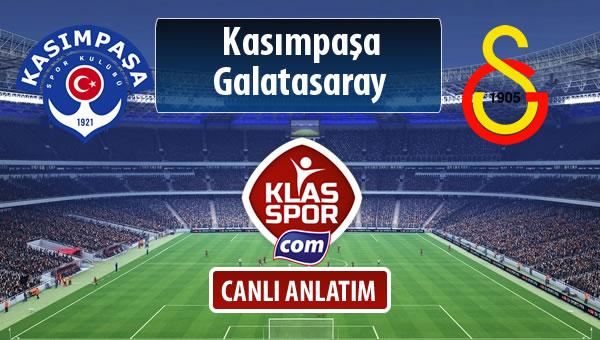 İşte Kasımpaşa - Galatasaray maçında ilk 11'ler