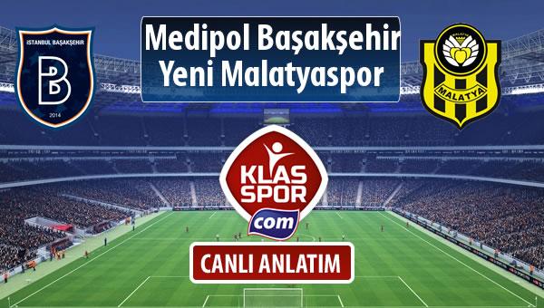 İşte M.Başakşehir - Evkur Y.Malatyaspor maçında ilk 11'ler