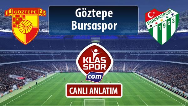 İşte Göztepe - Bursaspor maçında ilk 11'ler