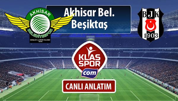 Akhisar Bel. - Beşiktaş maç kadroları belli oldu...