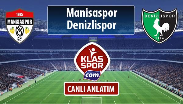 İşte Manisaspor - Denizlispor maçında ilk 11'ler