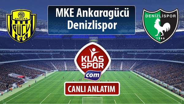MKE Ankaragücü - Denizlispor maç kadroları belli oldu...