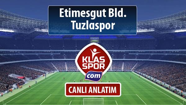 İşte Etimesgut Bld. - Tuzlaspor maçında ilk 11'ler