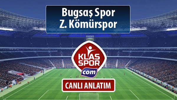 Bugsaş Spor - Z. Kömürspor maç kadroları belli oldu...