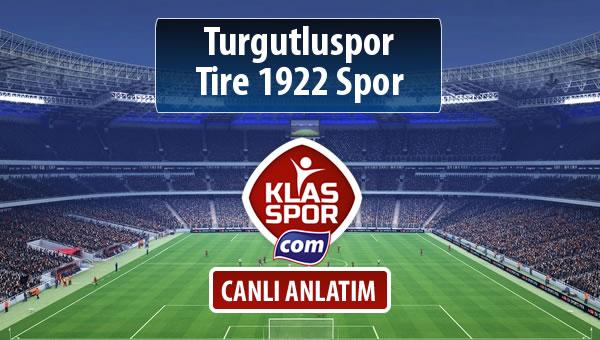 Turgutluspor - Tire 1922 Spor sahaya hangi kadro ile çıkıyor?