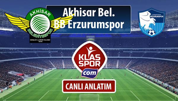 Akhisar Bel. - BB Erzurumspor maç kadroları belli oldu...