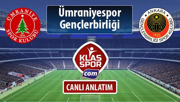 İşte Ümraniyespor - Gençlerbirliği maçında ilk 11'ler