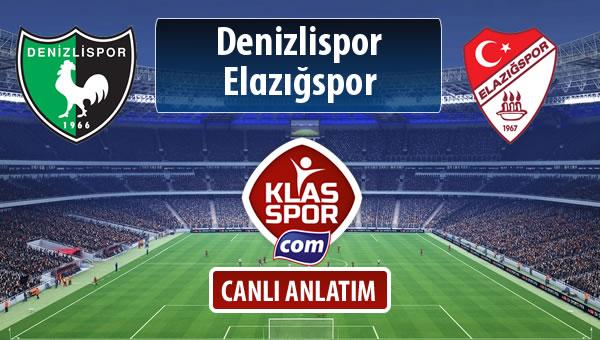 Denizlispor - Elazığspor maç kadroları belli oldu...