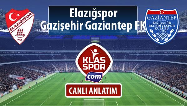 İşte Elazığspor - Gazişehir Gaziantep FK maçında ilk 11'ler