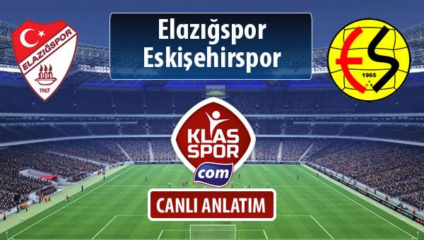 Elazığspor - Eskişehirspor maç kadroları belli oldu...