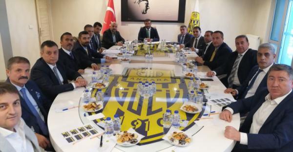 Ankaragücü'nde yönetim kurulu toplandı