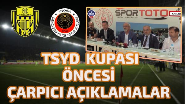 TSYD Kupası öncesi basın toplantısı düzenlendi