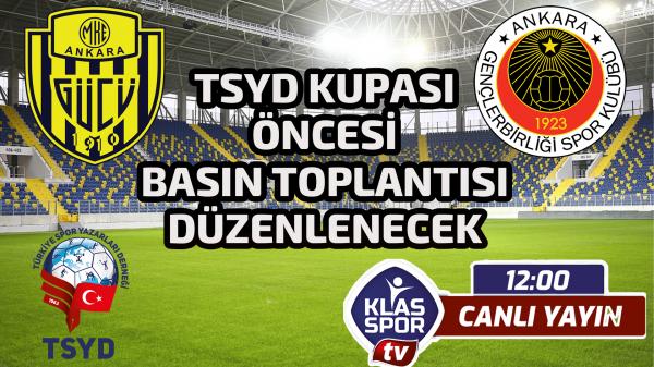 TSYD Kupası öncesi basın toplantısı düzenlenecek