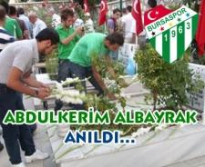 Bursa - Ankara dostluğunun mimarı Abdulkerim Bayraktar anıldı...
