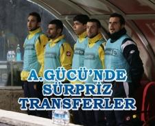 Ankaragücü'nde sürpriz transferler