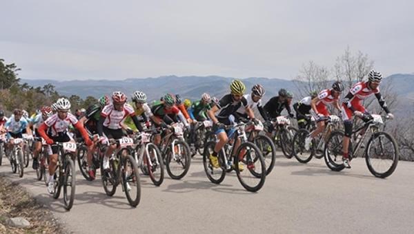 Çamlıdere'de Dağ Bisikleti heyecanı...