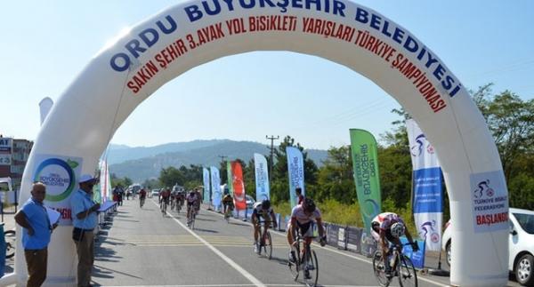 Türkiye Bisiklet Şampiyonası Yol Yarışları tamamlandı