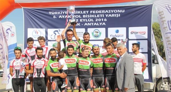 Pedallar Serik'te çevrildi