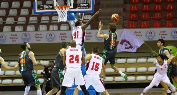 Gaziantep Basketbol evinde kazandı
