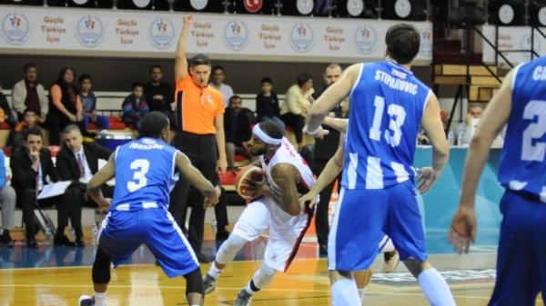 Gaziantep Basketbol - Demir İnşaat Büyükçekmece: 78-67