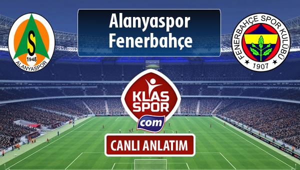 İşte Alanyaspor - Fenerbahçe maçında ilk 11'ler
