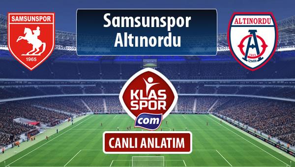 Samsunspor - Altınordu maç kadroları belli oldu...