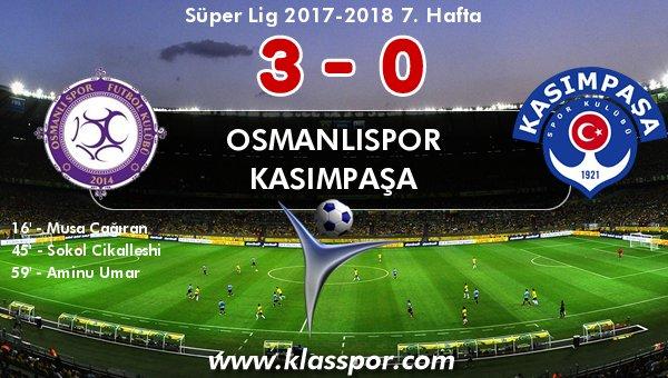Osmanlıspor ilk 3 puanına kavuştu!