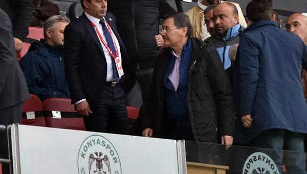 Melih Gökçek, Konya'da Osmanlıspor maçını izledi