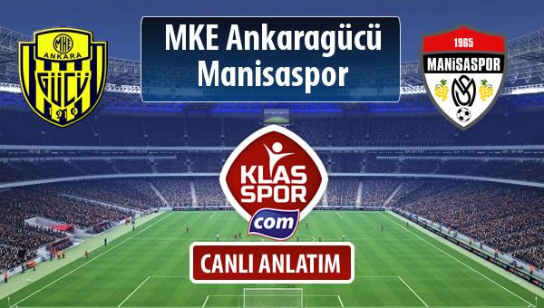 İşte MKE Ankaragücü - Manisaspor maçında ilk 11'ler