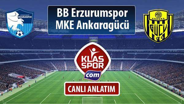 BB Erzurumspor - MKE Ankaragücü maç kadroları belli oldu...