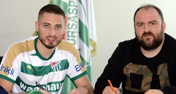 Bursaspor, Grozav ile anlaştı