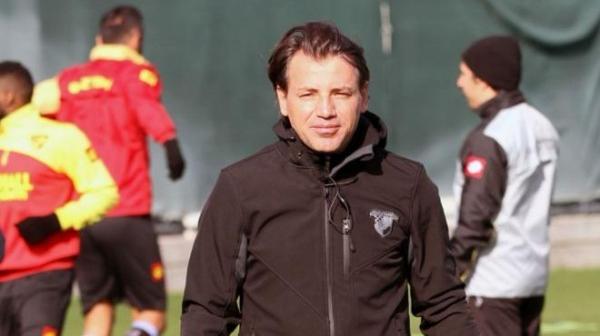 Göztepe'de Tamer Tuna'dan transfer açıklaması
