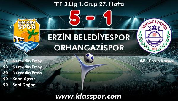 Erzin Belediyespor 5 - Orhangazispor 1