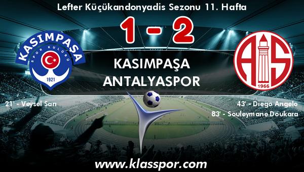 Kasımpaşa 1 - Antalyaspor 2